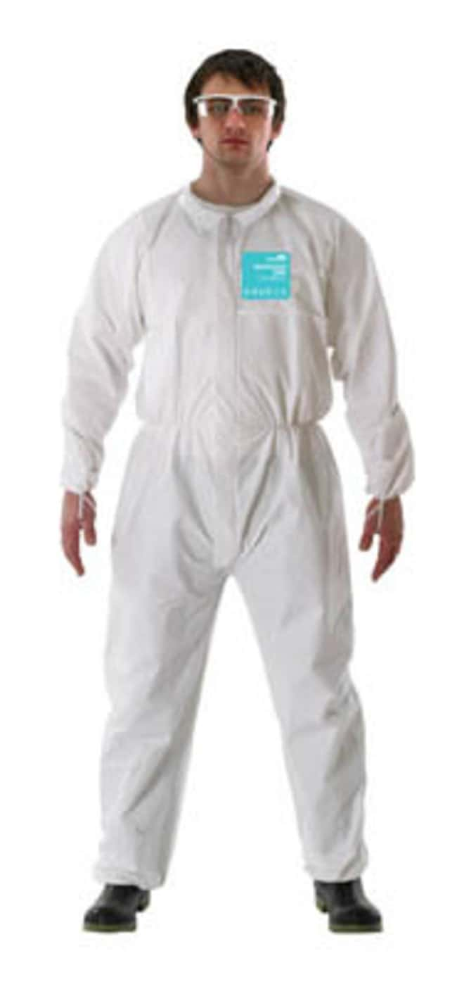 Ansell Edmont™Microgard™ 2000 Standard White Coveralls with Collar Small Products