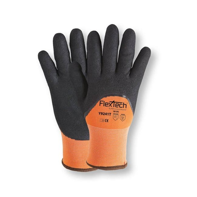 Wells Lamont Flextech Sandy Nitrile Thermal Palm Dipped Glove::