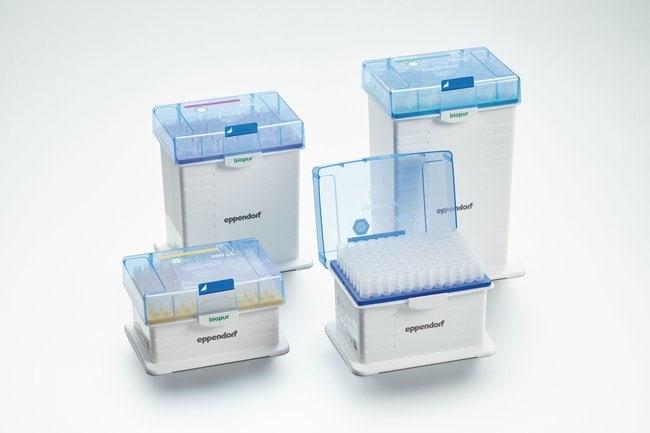 EppendorfepT.I.P.S. Racks Pipette Tips PCR Clean, 0.1 - 5 mL:Pipette Tips