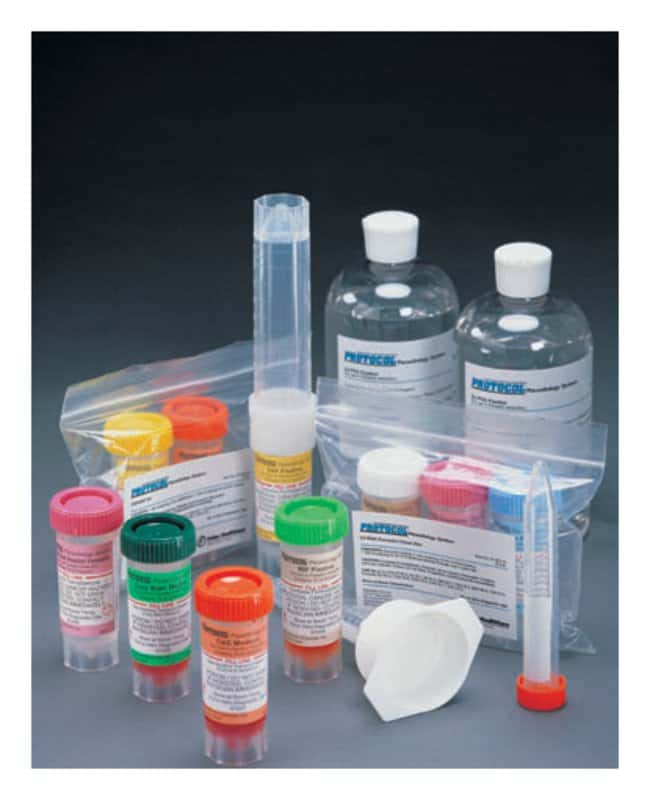 Fisher Healthcare PROTOCOL Parasitology Three-Vial Kits, SAF/Clean/C and
