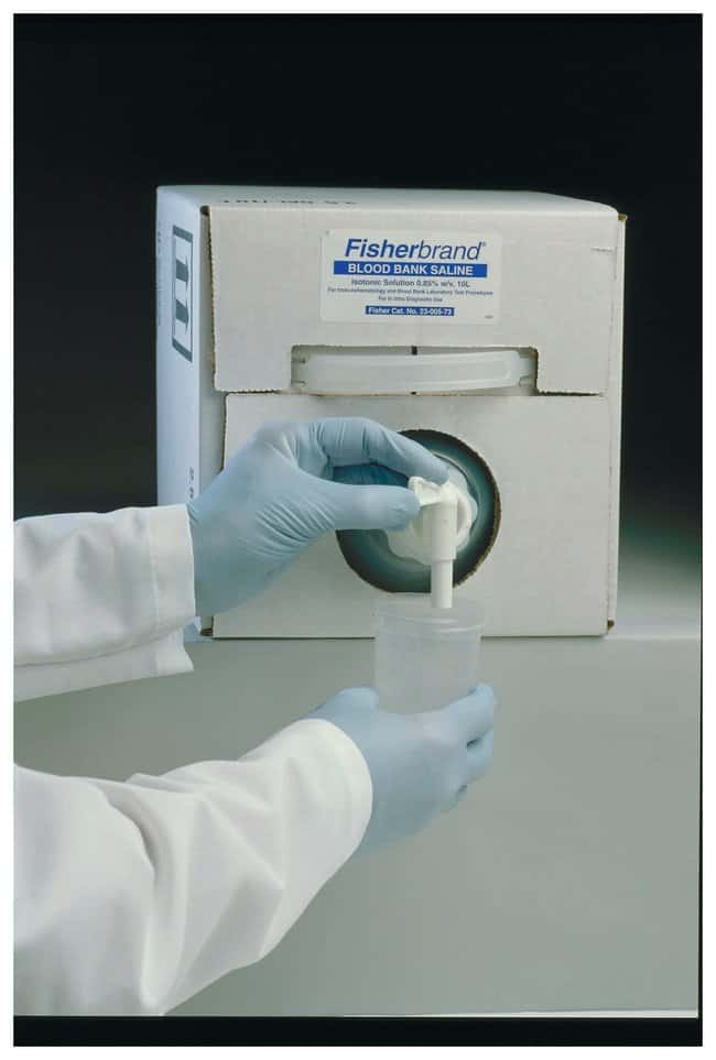 Fisherbrand Blood Bank Saline 0.85% - 0.9% :Diagnostic Tests and Clinical