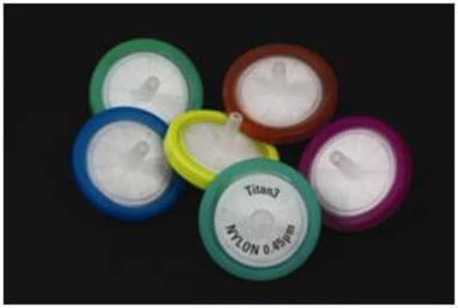 Thermo Scientific™Titan3™ PTFE (Hydrophobic) Syringe Filters, 0.45μm 30mm dia. Thermo Scientific™Titan3™ PTFE (Hydrophobic) Syringe Filters, 0.45μm