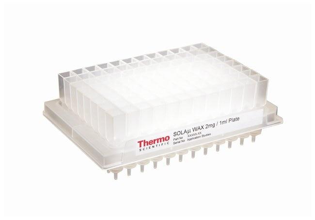 Thermo Scientific™SOLAµ™ SPE Plates WAX 2mg/1mL 96 well plate Thermo Scientific™SOLAµ™ SPE Plates