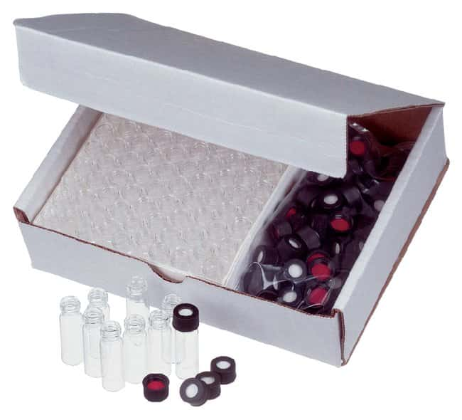 Thermo Scientific Unassembled 4mL Screw Thread Vial Convenience Kits :Chromatography:Autosampler