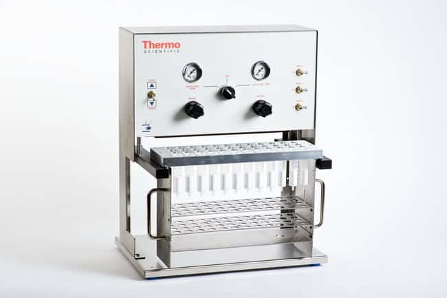 Thermo Scientific™ HyperSep™ Positive Pressure Manifold Manifold with 16mm Collection Rack Thermo Scientific™ HyperSep™ Positive Pressure Manifold