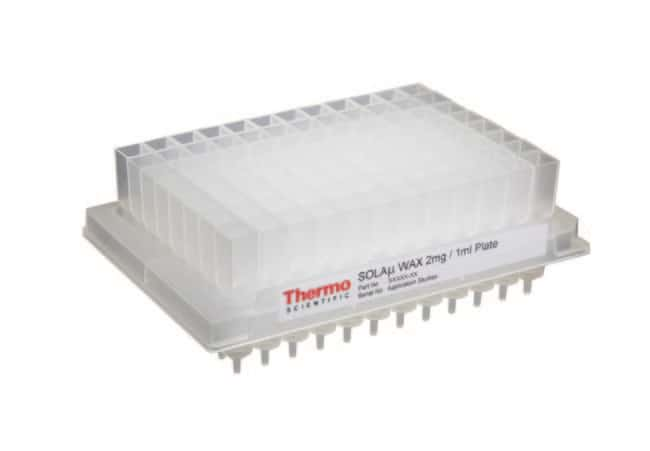 Thermo Scientific™ SOLAµ™ SPE Plates: SPE Columns, Discs, and Cartridges Solid Phase Extraction Products