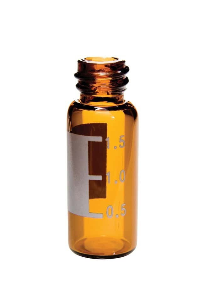 Thermo Scientific™8mm Amber Glass Screw Thread Vials