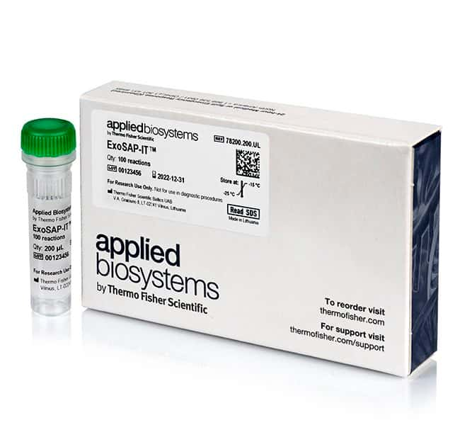 Applied Biosystems™ ExoSAP-IT™ PCR Product Cleanup Reagent 100 rxns products