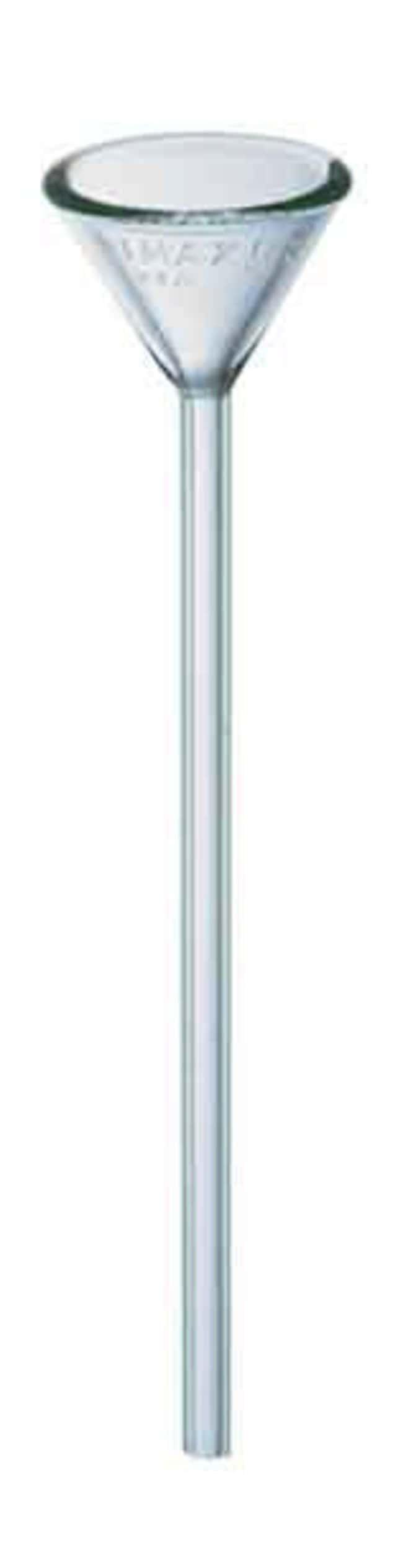 FisherbrandReusable Glass Long-Stem Funnels 185mL:Funnels