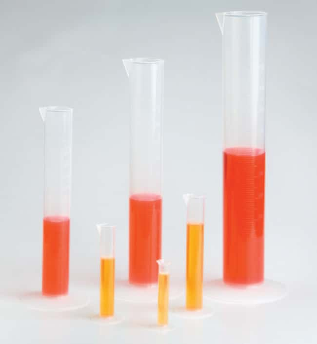 Thermo Scientific™ Nalgene™ Polypropylene Economy Plastic Graduated Cylinders