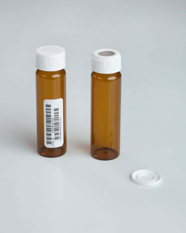 Thermo Scientific™ Amber Clean Snap Vials with 0.125in. Septa
