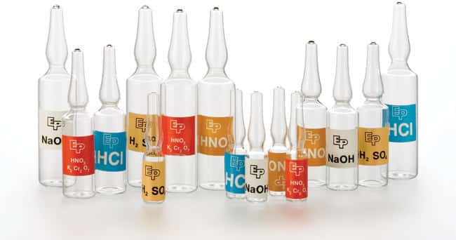 Thermo Scientific Chemical Preservative Glass Ampoules::