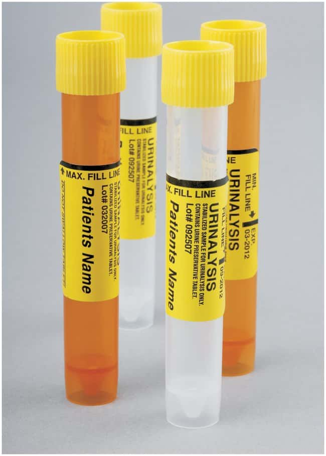 Thermo Scientific Capitol Vial  Urinalysis Transport Systems:Test Tubes,