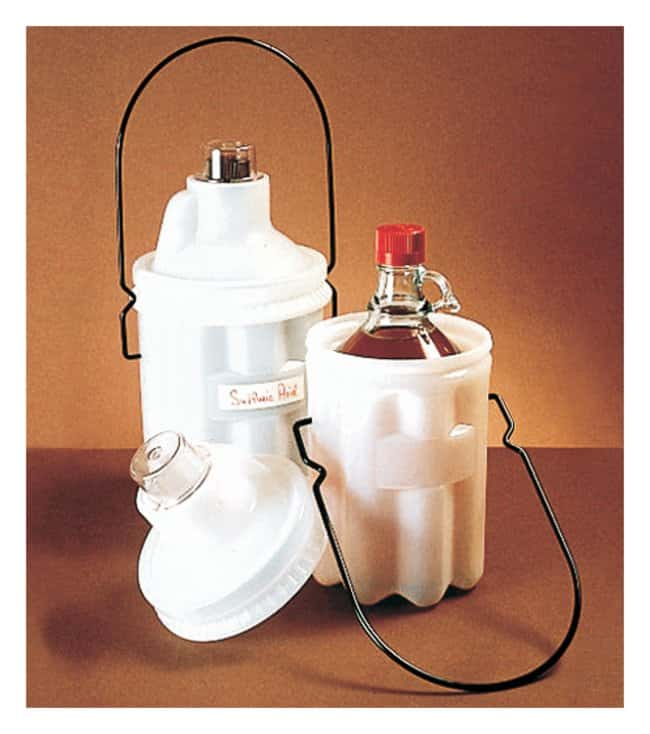 Thermo Scientific Nalgene LDPE Safety Bottle Carriers :Racks, Boxes, Labeling