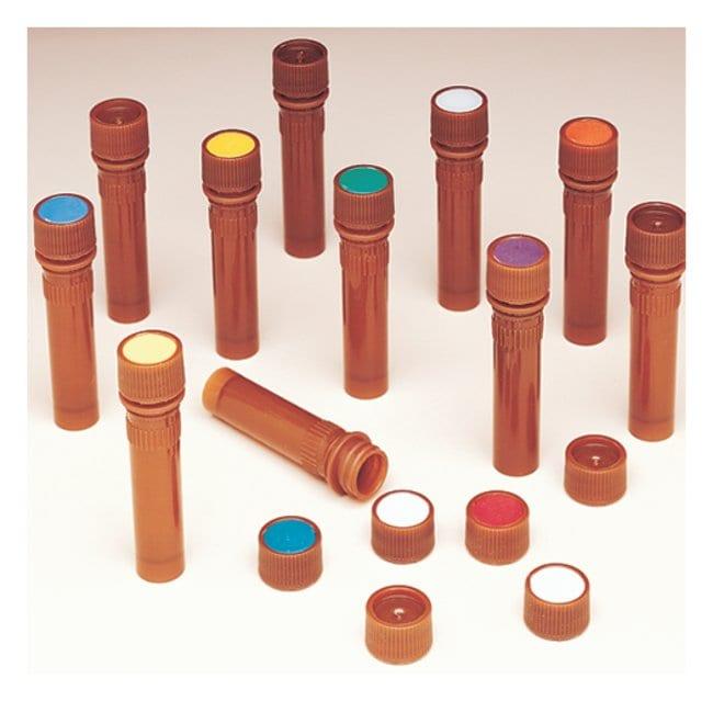 Thermo Scientific™Nalgene™ PPCO Amber Micro Packaging Vials: Sterile, Bulk Pack: Sample Vials Vials