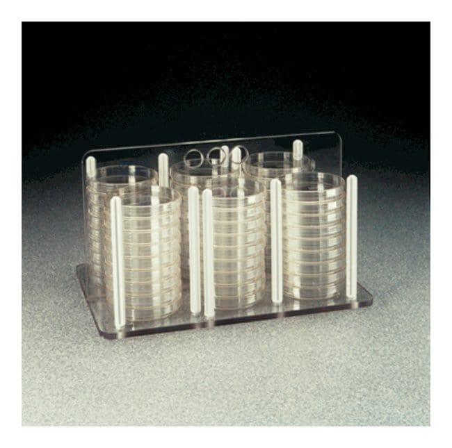 Thermo Scientific™Nalgene™ Petri and Bioassay Dish Racks 60mm Dia.; 56/72 Dishes Thermo Scientific™Nalgene™ Petri and Bioassay Dish Racks