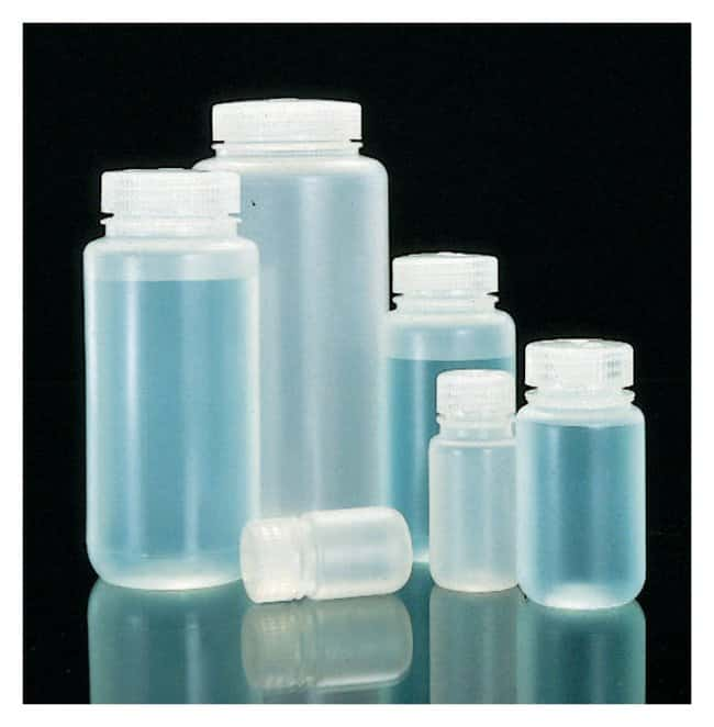 Thermo Scientific™Nalgene™ Wide-Mouth Lab Quality PPCO Bottles with Closure: Bottles Bottles, Jars and Jugs