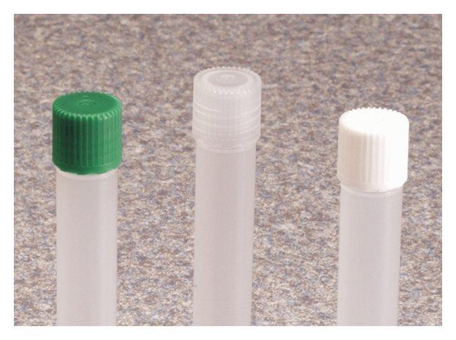 Thermo Scientific™Nalgene™ Nonsterile PPCO Micro Packaging Vial Closures for 4.5mL Vials Non-Sterile, 13mm, White Micro Sampling Vials and Closures