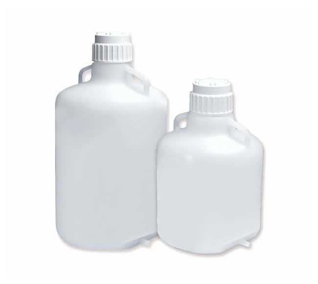 Thermo Scientific™ Nalgene™ LDPE Carboys with Tubulation and Closure: Carboys Beakers, Bottles, Cylinders and Glassware