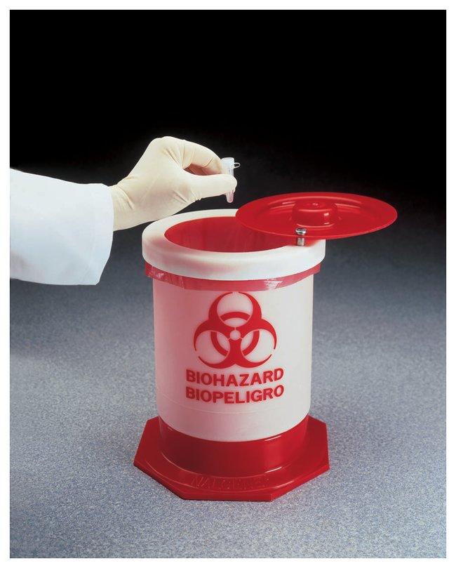 Thermo Scientific Nalgene Biohazardous Waste Containers :Beakers, Bottles,