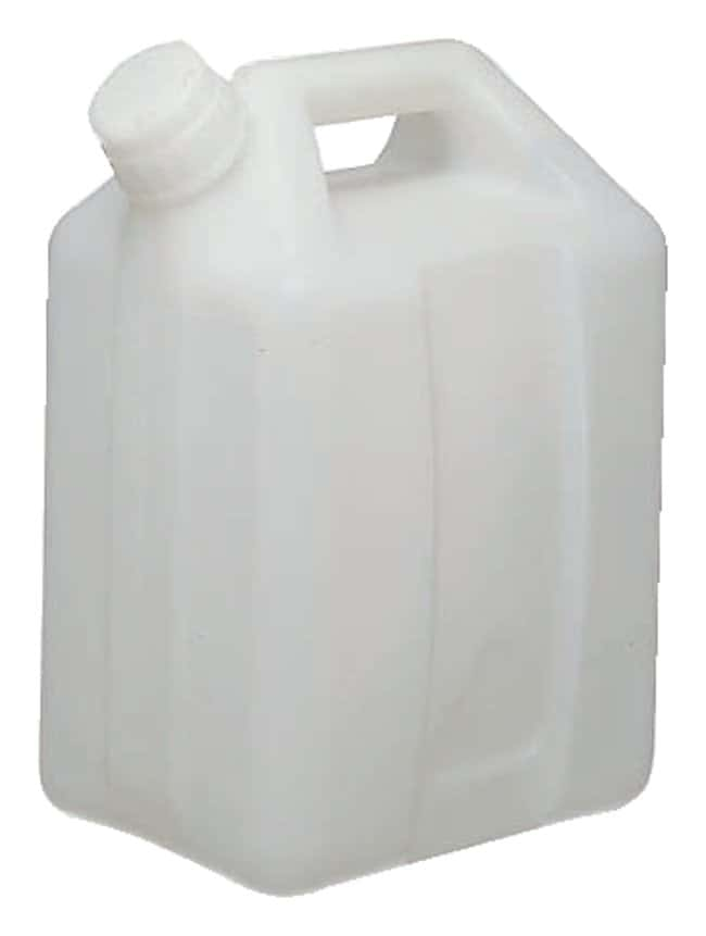 Thermo Scientific™ Nalgene™ Fluorinated HDPE, Jerry Can with Closure 20 L Thermo Scientific™ Nalgene™ Fluorinated HDPE, Jerry Can with Closure