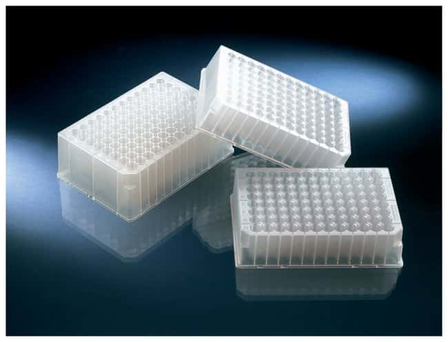 Thermo Scientific™ Nunc™ 96-Well Polypropylene DeepWell™ Storage Plates 96 DeepWell-2mL, Natural Polypropylene, Non-treated, without lid, Non-sterile Thermo Scientific™ Nunc™ 96-Well Polypropylene DeepWell™ Storage Plates