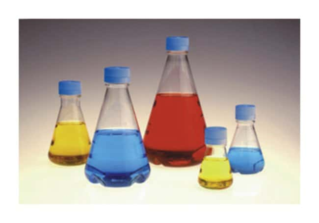 Thermo Scientific Nalgene Single-Use PETG Erlenmeyer Flasks with Plain