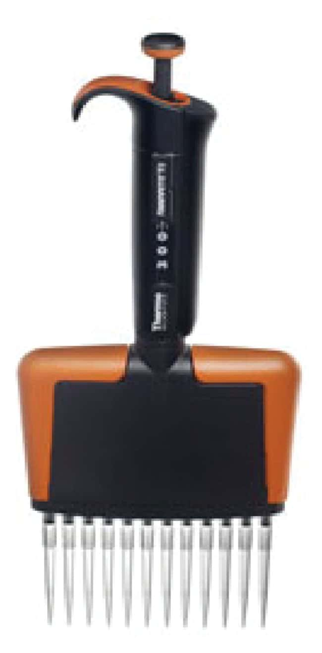 Thermo Scientific™Finnpipette™ F2 Multichannel Pipettes Finnpipette™ F2 12-Channel Pipette, Volume range: 30 to 300μL; Color Code: Orange; Compatible tips: Finntip 300, Filter 300, Flex 300 and Flex Filter 300; Unit Size: 1 piece Thermo Scientific™Finnpipette™ F2 Multichannel Pipettes