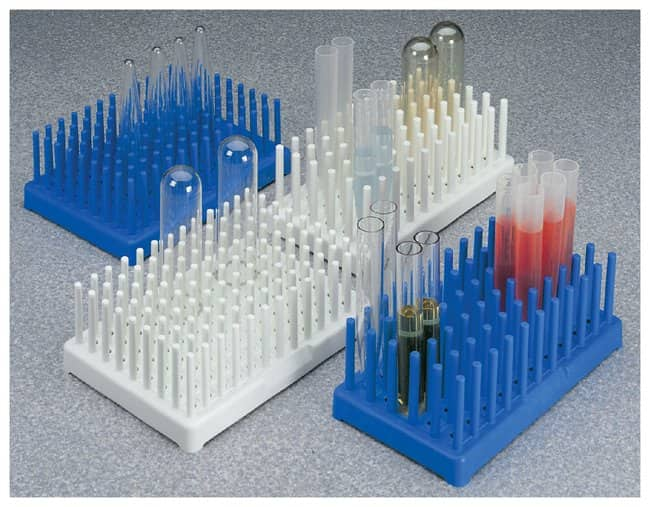 Thermo Scientific Nalgene Polypropylene-Filled Test Tube Peg Racks :Racks,