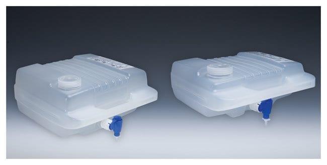 Thermo Scientific™Nalgene™ Autoklavierbare Flachkanister aus Polypropylen-Copolymer (PPCO) mit Hahn: Tanks Ballonflaschen, Gefäße und Lagerung von Flüssigkeiten