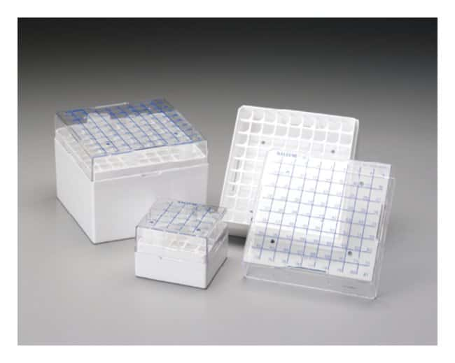 Thermo Scientific™ Cryoboxes: Boxes Racks, Boxes, Labeling and Tape