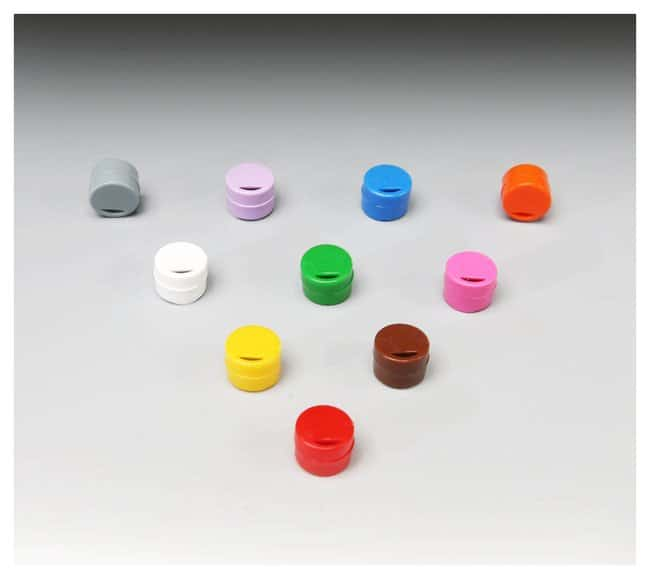 Thermo Scientific™ Cryo Vial Closure Color Coders: Boxes Racks, Boxes, Labeling and Tape