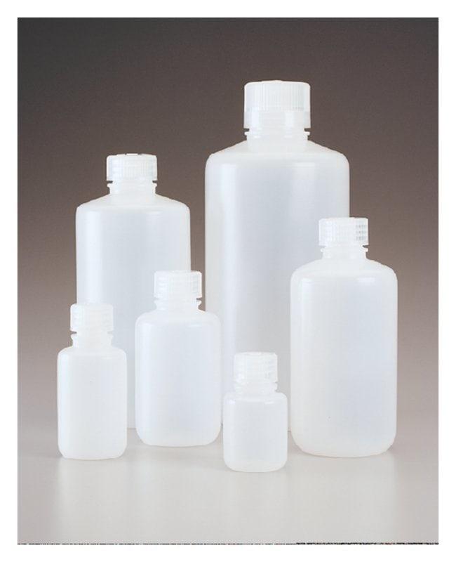 Thermo Scientific™Nalgene™ Narrow-Mouth Economy HDPE Bottles: Bulk Pack, Assembled: Bottles Bottles, Jars and Jugs