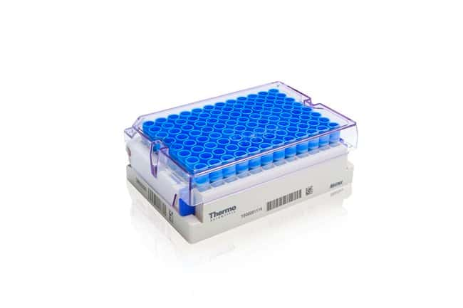 Thermo Scientific Matrix 0.5mL ScrewTop Tubes in Barcoded Latch Racks