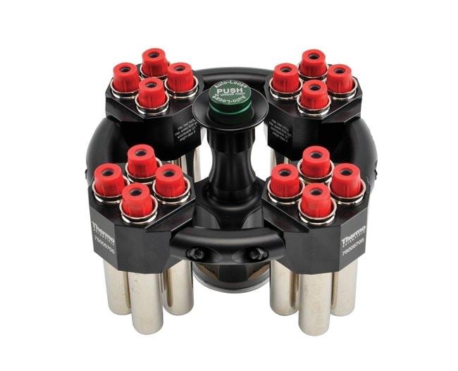 Thermo Scientific™TX-100 klinischer Ausschwingrotor Klinischer TX-100 Rotor zur Verwendung mit Thermo Scientific Sorvall ST8, Megafuge 8 und Zentrifugen der Serie SL8 Kompakte Rotoren für Tischzentrifugen