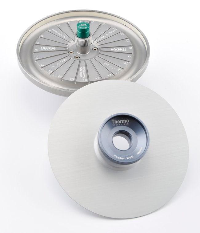 Thermo Scientific™Hämatokrit-Festwinkelrotor Hematocrit Rotor zur Verwendung mit Thermo Scientific Sorvall ST8, Megafuge 8 und Zentrifugen der Serie SL8 Kompakte Rotoren für Tischzentrifugen