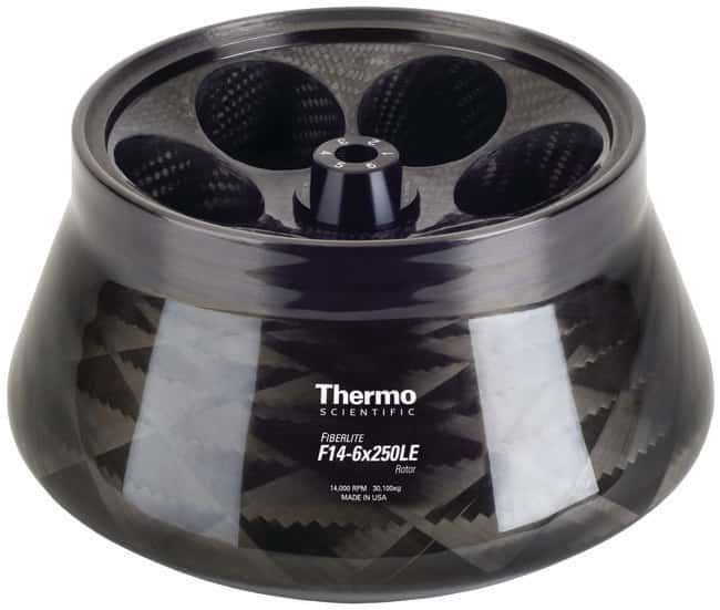 Thermo Scientific™Fiberlite™ F14-6 x 250LE Fixed Angle Rotor For use with Thermo Scientific Sorvall Legend XT, Multifuge X3 Series Thermo Scientific™Fiberlite™ F14-6 x 250LE Fixed Angle Rotor