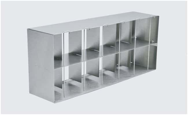 Thermo Scientific™ Racks for Revco™ ExF, DxF and HERAfeeze™ HFU B Freezers Adjustable Side Access Rack, holds 16 (2 in.) or 12 (3 in.) boxes/rack, for 17.3 and 23.0 cu. ft. models Thermo Scientific™ Racks for Revco™ ExF, DxF and HERAfeeze™ HFU B Freezers