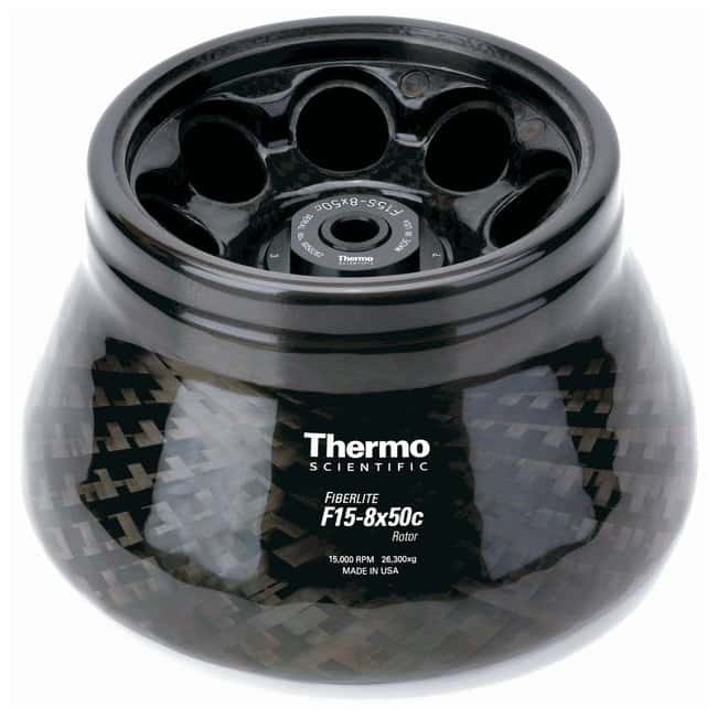 Thermo Scientific™Fiberlite™ F15-8 x 50cy Fixed Angle Rotor For Thermo Scientific Sorvall Legend X1, Sorvall Legend XT Thermo Scientific™Fiberlite™ F15-8 x 50cy Fixed Angle Rotor