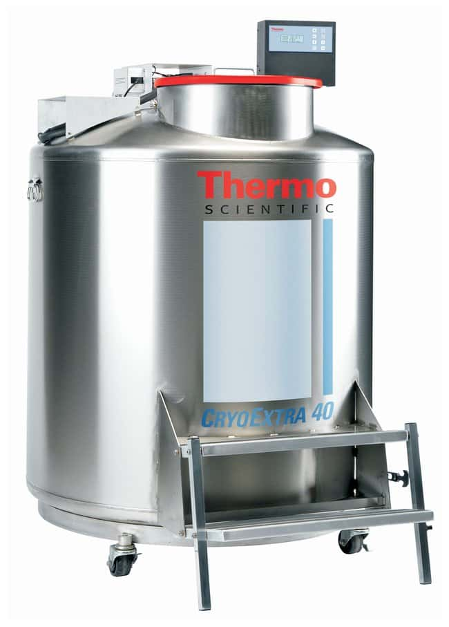 Thermo Scientific™CryoExtra™ High-Efficiency Cryogenic Storage Systems 797 liters (LN2 capacity); 40,600 (2mL) vials Thermo Scientific™CryoExtra™ High-Efficiency Cryogenic Storage Systems
