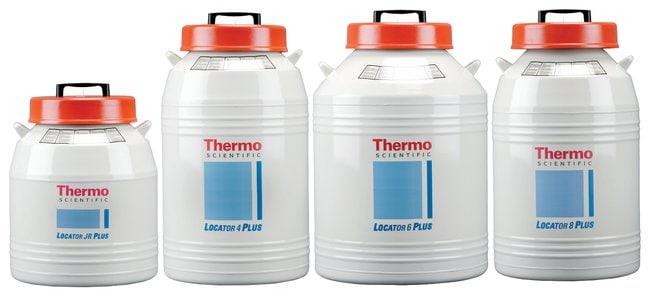 Thermo Scientific™Locator™ Plus Rack and Box Systems Locator 6 Plus; Liquid nitrogen capacity: 175L; O.D. x H: 66 x 100.3cm Thermo Scientific™Locator™ Plus Rack and Box Systems