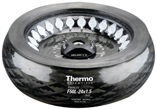 Thermo Scientific Fiberlite F50L-24 x 1.5 Fixed-Angle Rotor  F50L-24x1.5