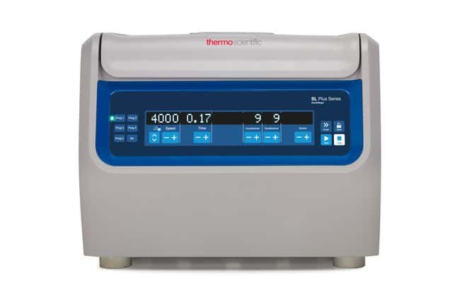 Thermo Scientific™ Centrifugeuse Series SL1 Plus: Page d'accueil