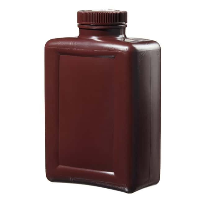 Thermo Scientific™ Nalgene™ Rectangular Amber HDPE Bottles