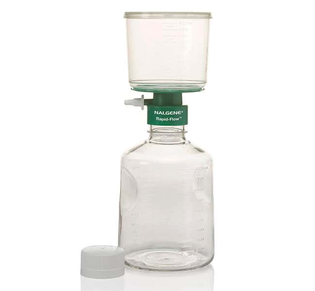Thermo Scientific™ Nalgene™ Rapid-Flow™ Sterile Single Use Vacuum Filter Units 1000mL; Pore Size: 0.20μm; Membrane: 75mm; Color/Grid: White/None Thermo Scientific™ Nalgene™ Rapid-Flow™ Sterile Single Use Vacuum Filter Units