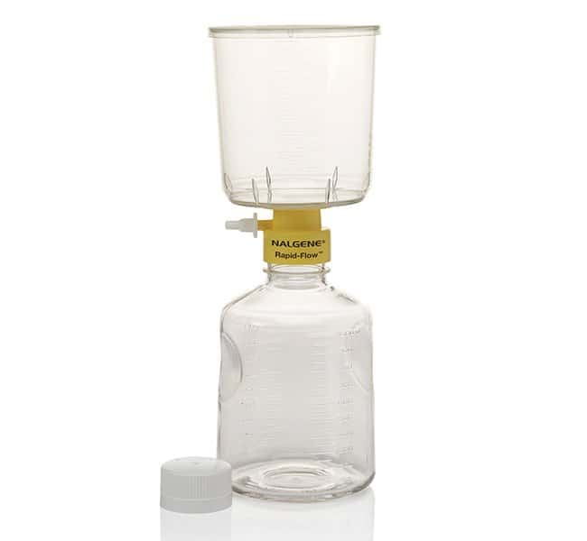 Thermo Scientific™ Nalgene™ Rapid-Flow™ Sterile Single Use Vacuum Filter Units 1000mL; Pore Size: 0.20μm; Membrane: 75mm Thermo Scientific™ Nalgene™ Rapid-Flow™ Sterile Single Use Vacuum Filter Units