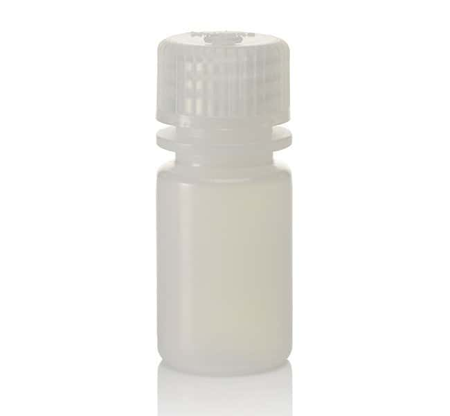 Thermo Scientific™Nalgene™ HDPE Diagnostic Bottles with Closure: Nonsterile, Tray Pack Natural HDPE; Non-sterile; 15mL Thermo Scientific™Nalgene™ HDPE Diagnostic Bottles with Closure: Nonsterile, Tray Pack