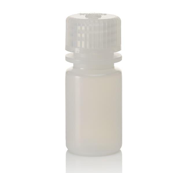 Thermo Scientific™Nalgene™ HDPE-Diagnostikflaschen mit Verschluss: Nicht steril, auf Tablett verpackt Aus naturfarbenem HDPE; nicht steril; 15ml Thermo Scientific™Nalgene™ HDPE-Diagnostikflaschen mit Verschluss: Nicht steril, auf Tablett verpackt