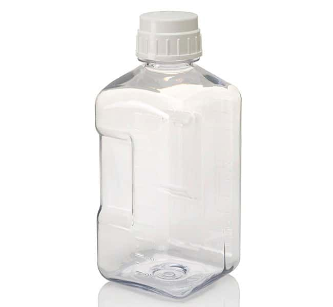Thermo Scientific™ Nalgene™ Square Polycarbonate Bottles with Closure: Bottles Bottles, Jars and Jugs