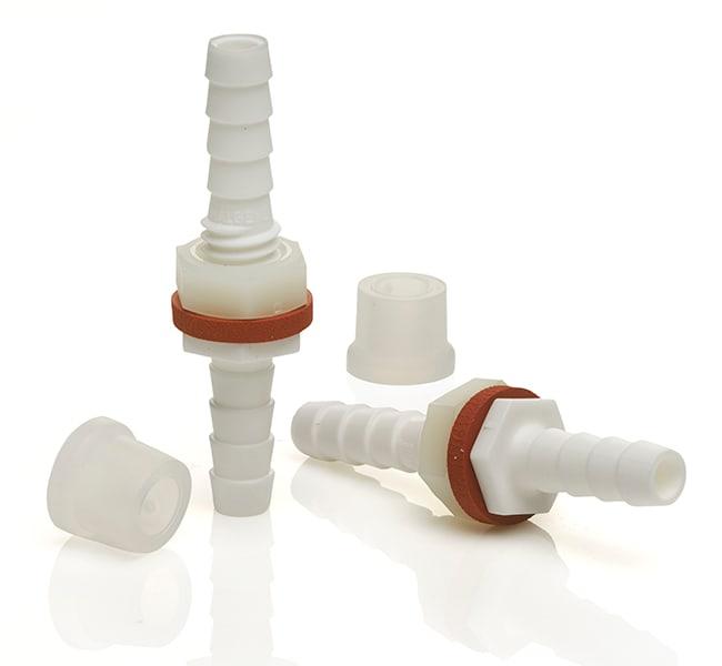Thermo Scientific™Nalgene™ Polypropylene, Barbed Bulkhead Fittings, 6.5 mm